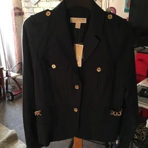 MICHAEL by Michael Kors - NWT - Gold Chain/Jacket